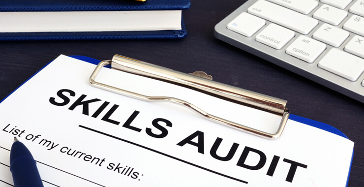 Undertaking a skills audit & identifying your potential